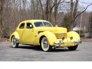 Restored 1937 Ford Model 812 Supercharged Beverly Sedan